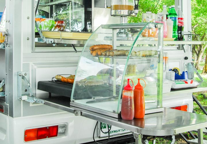 Suzuki Carry Food Trucks